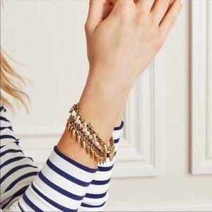 Stella & Dot Gold Jacinthe Bracelet
